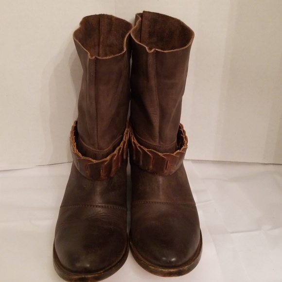 74851ecaa35 Freebird by Steven Shoes - Freebird Yerba Distressed leather bootie